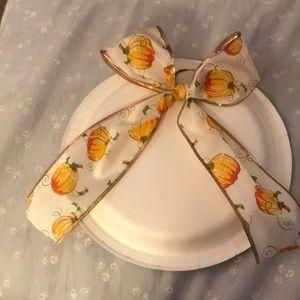 💕NEW💕 Handmade Pumpkin hair bow